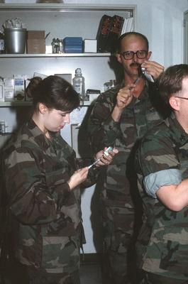 Andrea Prince lt. andrea prince, medical officer for naval mobile